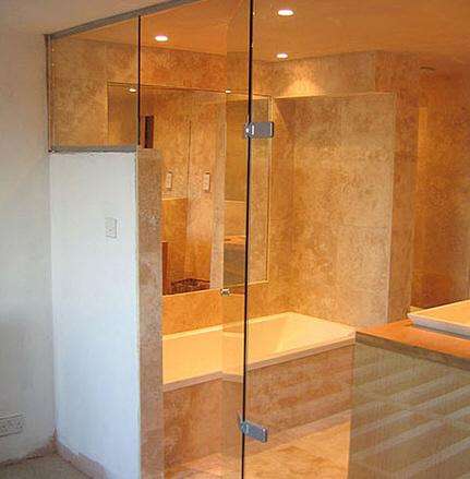 סופר דלת זכוכית למקלחת SL-94